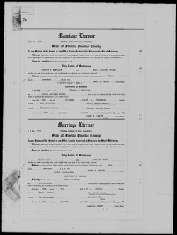 PL Knox Marriage Record