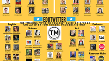 "Who to follow on ""edutwitter"" 2019/2020"