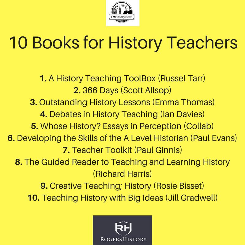 10 Books for History Teachers