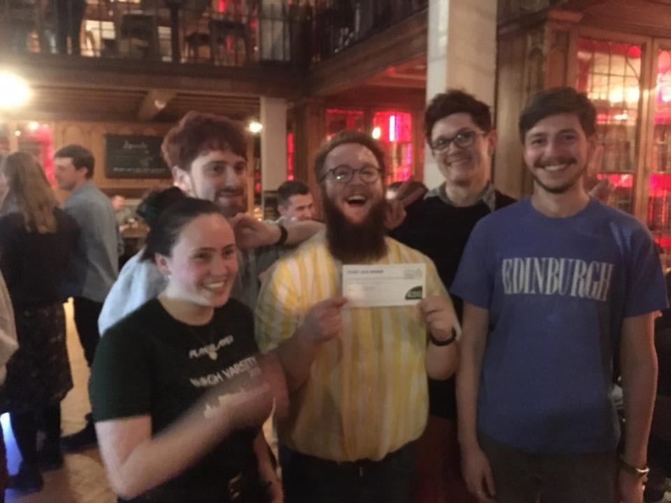 Teviot Quiz Winners