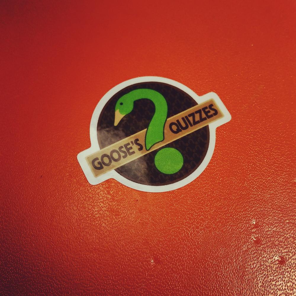 Goose's Quizzes Stickers