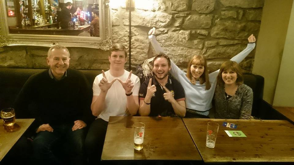 Drouthy Neebors Pub Quiz Winners