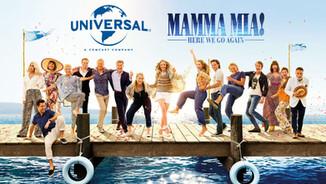 Universal Studios - Mamma Mia!: Lá Vamos Nós Denovo