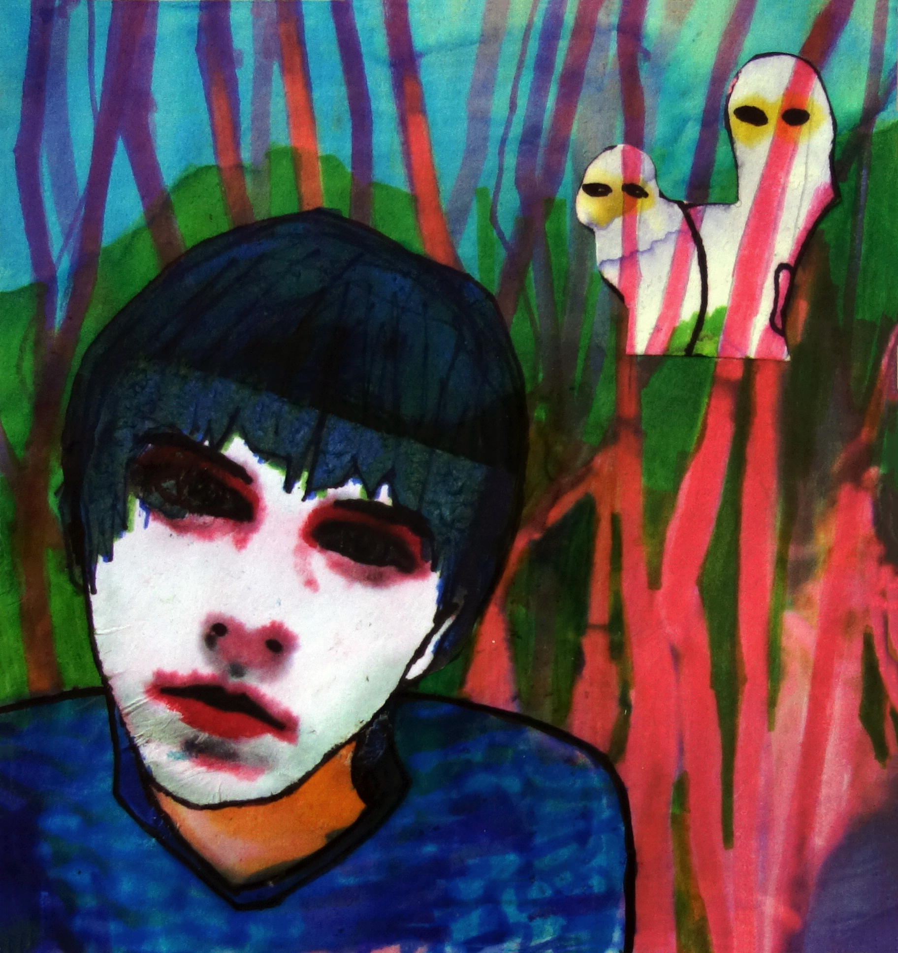 Boy in the grass