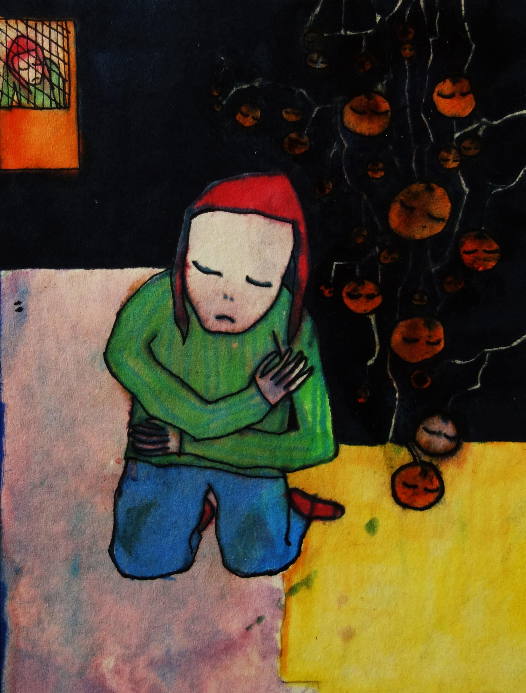 Pod mandarinkovníkem