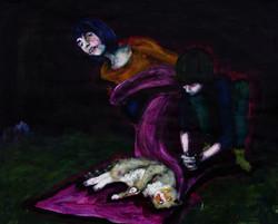 She, he and tomcat - skica pro Pietu