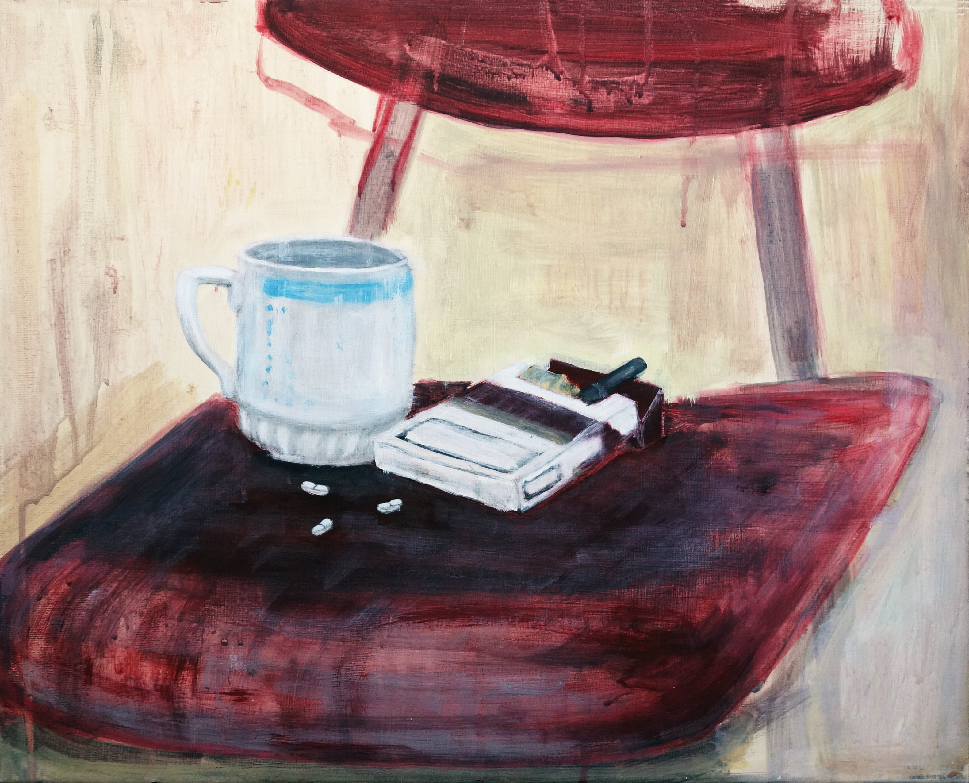 Coffe, cigarettes and pills