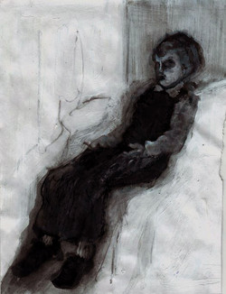 Boy in the box - body III - sketch