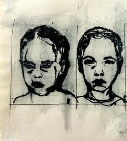 Boy in the Box -head study III - sketch