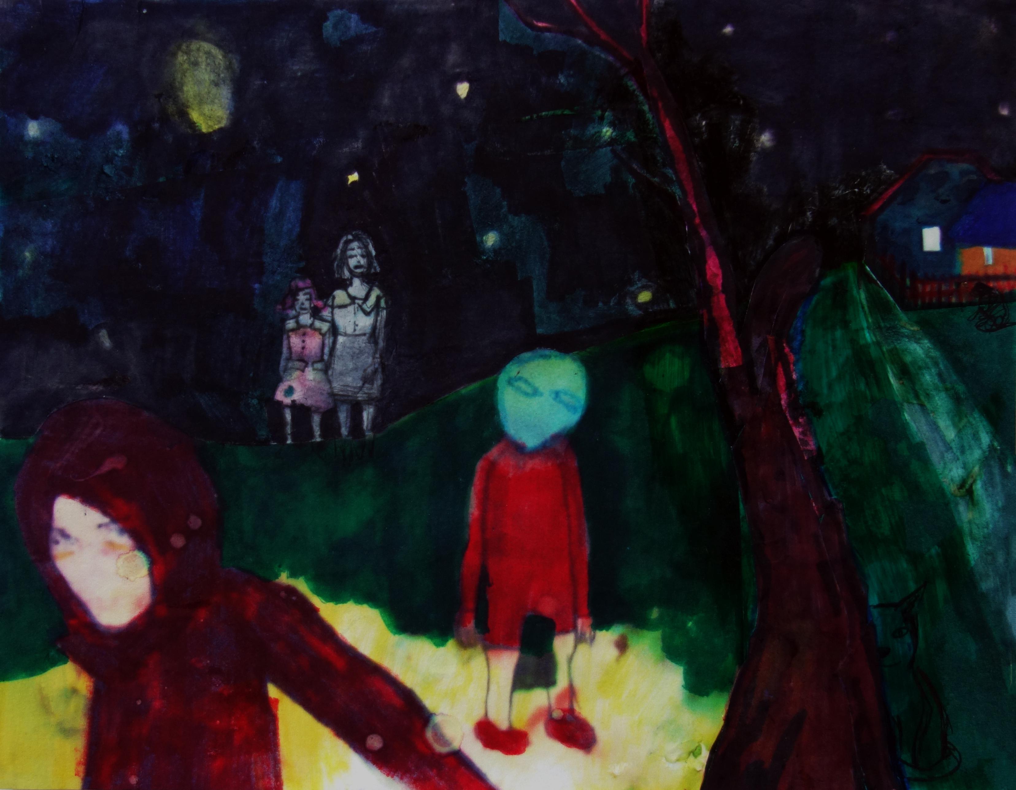 Night walk II