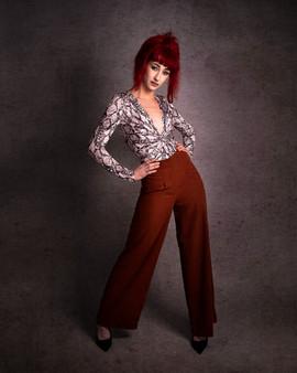 Paige - Full-Length Portrait, Devon