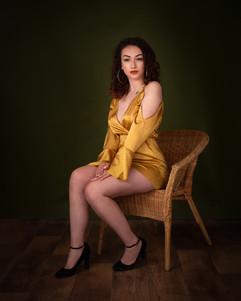 Chloe - Full-Length Portrait Devon