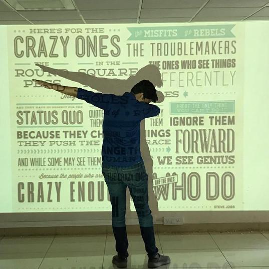 Crazy Ones Wall