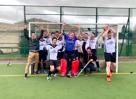 Men's 2s clinch promotion: Stroud 3-3 B&W2s