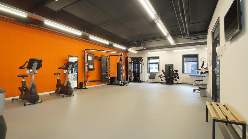 ... een uitdagende ruimte voor sport en training