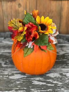 Pretty decorative pumpkins