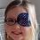 Thumbnail: Dotty Blue Children's Fabric Reusable Eye Patch