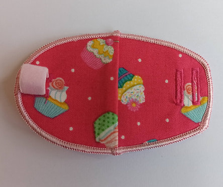 Cupcakes Children's Fabric Reusable Eye Patch