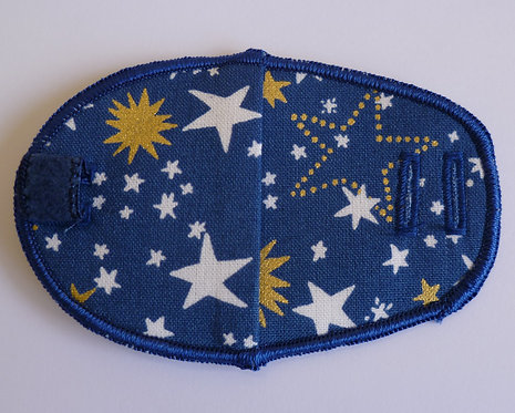 Starry Night Children's Fabric Reusable Eye Patch