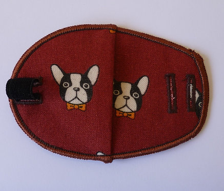 Frenchie Puppy Children's Fabric Reusable Eye Patch