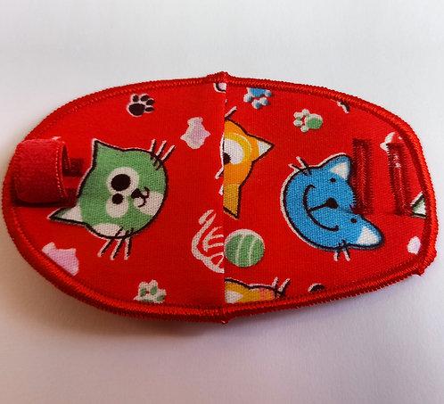 Cute Cats Children's Fabric Reusable Eye Patch