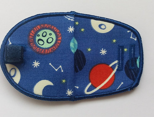 Planets Children's Fabric Reusable Eye Patch