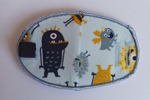 Little Monsters Children's Fabric Reusable Eye Patch