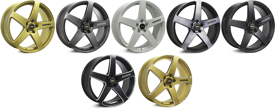SIMMONS FRC WHEELS GOLD COAST