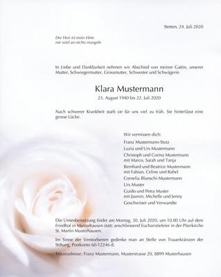 Nr. 5 Weisse Rose