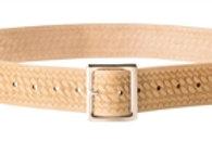 "13⁄4"" Embossed Leather Work Belt"