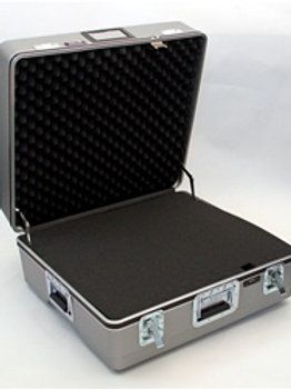 "Heavy Duty ATA Case with Wheels & Telescoping Handle 25"" x 23"" x 10"""