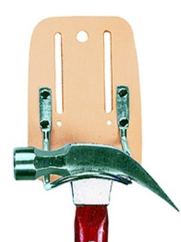 Top Grain Steel Loop Hammer Holder
