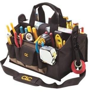 "16 Pocket 16"" Center Tray Tool Bag"