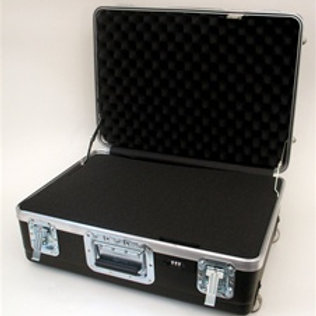 "Heavy Duty ATA Case with Wheels & Telescoping Handle 22"" x 18"" x 11 1/2"""