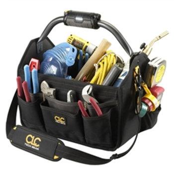 """22 Pocket Bar Handle Light 15"""" Open Top Tool Carrier"""