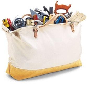 Reinforced Mason's Tool Bag