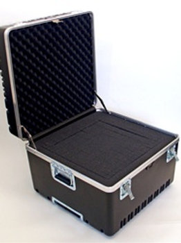 "Heavy Duty ATA Case with Wheels & Telescoping Handle 23 1/8"" x 23"" x 17 1/2"""