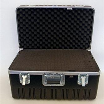"Heavy Duty ATA Case with Wheels & Telescoping Handle 27 1/2"" x 16 1/4"" x 15 1/4"""