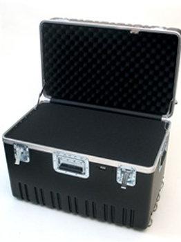 "Heavy Duty ATA Case with Wheels & Telescoping Handle 27 1/2"" x 16 1/4"" x 19 1/4"""
