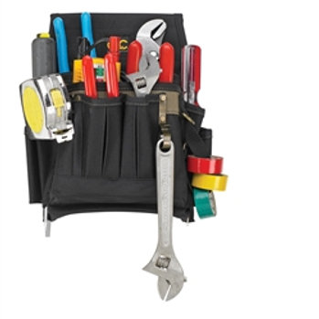 10 Pocket Poly Electrician's Tool Pouch