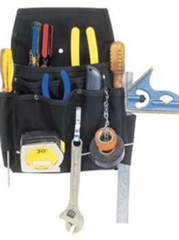 CLC5505 12 Pocket Ballistic Poly Professional Electrician's Tool Pouch