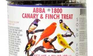 Abba 1800 Canary And Finch Treat- 1.25 LB
