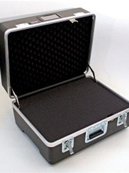 "Heavy Duty ATA Case with Wheels & Telescoping Handle  25"" x 19 1/2"" x 13 3/4"""