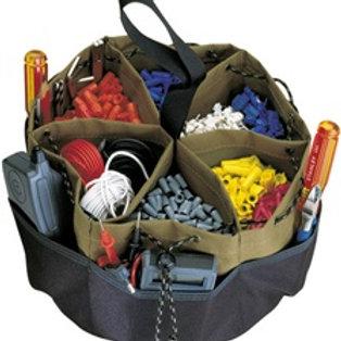 22 Pocket Drawstring Bucket Bag