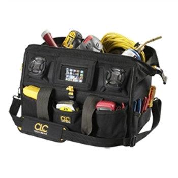 """39 Pocket Stereo Speaker 18"""" Tool Bag"""