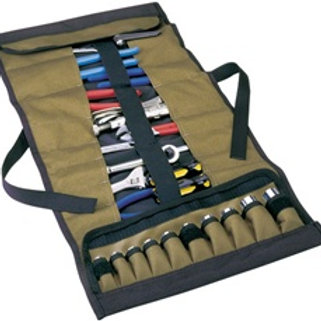 32 Pocket Socket/Tool Roll Pouch