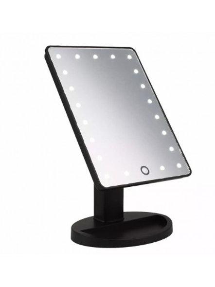 Sminkespeil med LED-Lamper