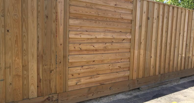 variegated fence