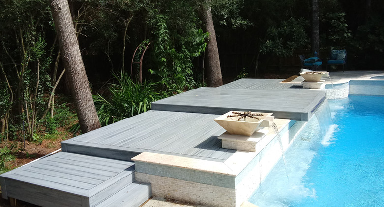 waterfall deck