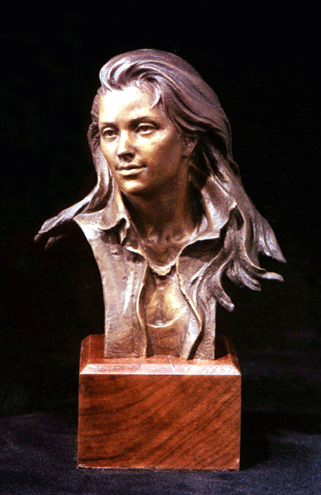 Young Woman - bust
